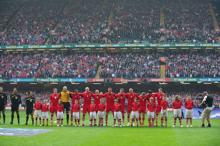 International Football - UEFA Euro 2012 - Qualifying Group G - Wales v England
